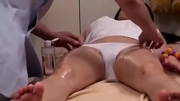 Private massage of Asian  filming